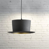 Retro Top Hat Pendant Light