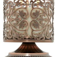3-Wick Candle Sleeve Pedestal Stylish Scroll Pedestal