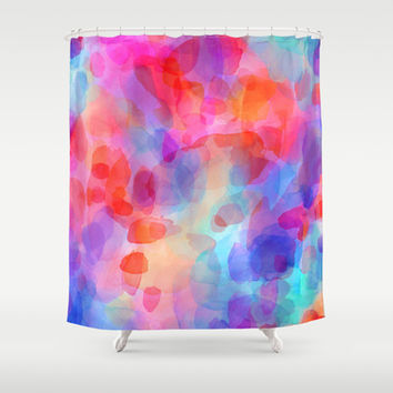 Even If Only Fleeting Shower Curtain by Jacqueline Maldonado