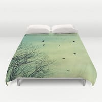 What if You Fly? Duvet Cover by RDelean