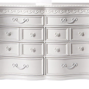 Disney Princess White 8 Drawer Dresser