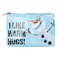 Disney Frozen Olaf Warm Hugs Cosmetic Bag