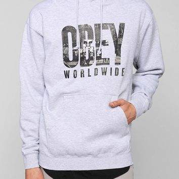 OBEY OG New York Pullover Hoodie Sweatshirt  Urban Outfitters