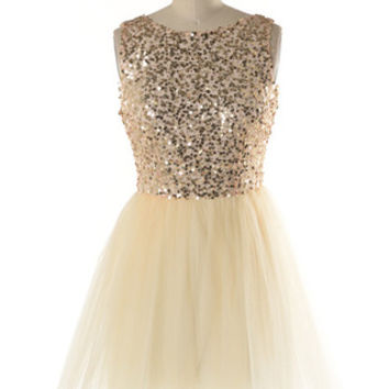 GLITTERING PARISIAN BALLERINA TULLE DRESS