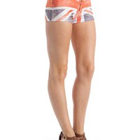 union-jack-flag-shorts REDBLUE - GoJane.com