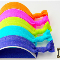 Hair Ties - The Neon Collection - S.. on Luulla