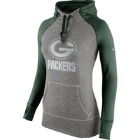 Green Bay Packers Nike Women's Platinum All Time Performance Hoodie – Charcoal