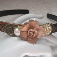 DATE NIGHT-Headband Designed With New And Vintage Pieces