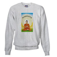 NAMASTE Sweatshirt on CafePress.com