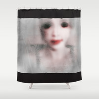 Memorie of another Life [V3 grey] Shower Curtain by LilaVert | Society6
