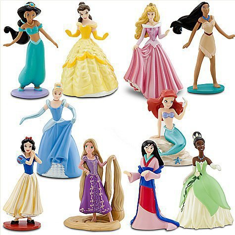 Deluxe Disney Princess Figure Play Set -- 10-Pc. | Play Sets | Disney Store