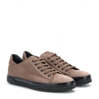 tod's - suede sneakers