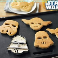 Star Wars Pancake Molds, Set of 3 Heroes and Villains: Yoda, Darth Vader, Stormtrooper:Amazon:Kitchen & Dining