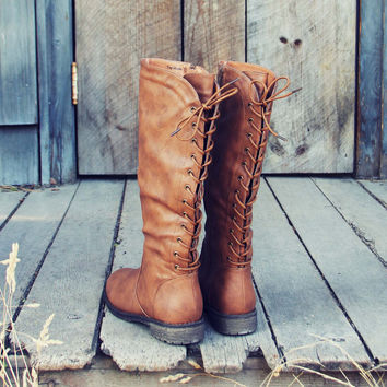 The Folk   Tie Boots