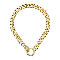 Obey Claudia Chain Necklace Gold - Zappos.com Free Shipping BOTH Ways