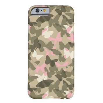 Camouflage Butterflies iPhone 6 case