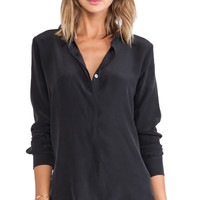 FRAME Shirt Le Classic Top in Black