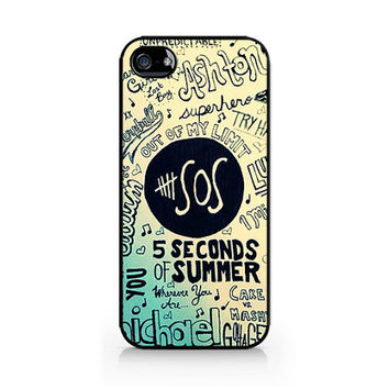 IPC-366 - 5SOS - 5 Seconds of Summer - iPhone 4 / iPhone 4S / iPhone 5 / iPhone 5C / iPhone 5S / Samsung Galaxy S3 / Samsung Galaxy S4