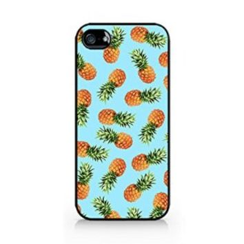 Pineapple Pattern - Tropical Pattern - Summer Pattern - Tropical Fruit Pattern - iPhone 5/5S Black Case