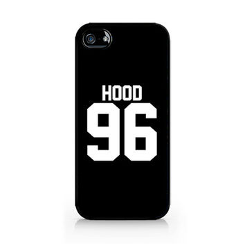 IPC-296 - HOOD 96 - Calum Hood - Cal - 5SOS - 5 Seconds of Summer - iPhone 4 / 4S / 5 / 5C / 5S / Samsung Galaxy S3 / S4 / S5