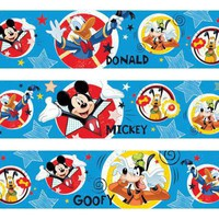 Mickey Mouse Clubhouse Edible Image Cake Borders by DecoPac 3 Strips by SweetnTreats on Zibbet