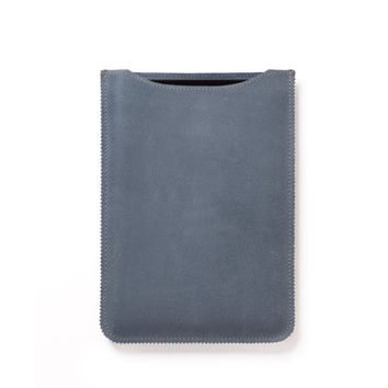 iPad mini sleeve in light blue
