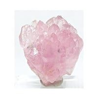Rose Pink Quartz Natural Crystal Cluster Mineral Specimen Focal Stone Luscious Pink Crystals