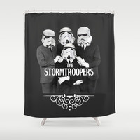 STORMTROOPERS Shower Curtain by Maioriz Home