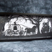 Cinderella's Dream Original Handcut Papercut