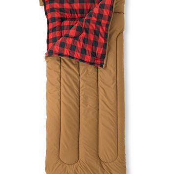 Camp Sleeping Bag Flannel-Lined Kidsx27 40 Camping  Free