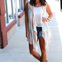 Pastel Knitted Cardi
