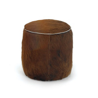 Hair on Hide Stool