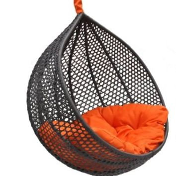 Ravelo  Vibrant Look Porch Hanging Chair With Stand  PE-03BKY9104BKAmazonHome