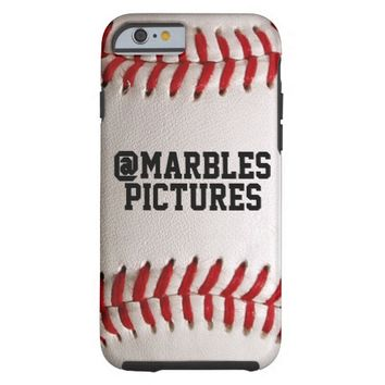 Baseball Sports Texture with Personalized Name