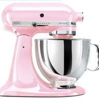 KitchenAid KSM150PSPK 5 Quart Stand Mixer, Pink:Amazon:Kitchen & Dining