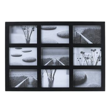 Room Essentials™ 9-Opening Collage Frame - Black 4x6