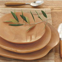 Mango Wood Plates - VivaTerra