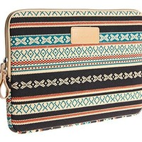 Dahchee 2014 New Bohemian Style Canvas Fabric 13 Inch Laptop Sleeve Macbook / Macbook Pro / Macbook Air Sleeve Case Dell / Hp /Lenovo/sony/ Toshiba / Ausa / Acer /Samsun Ultrabook Bag Cover
