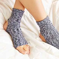 Marled Toeless Dance Sock - Urban Outfitters