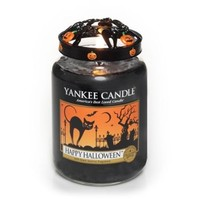 1281268 Happy Halloween Yankee Candle Large Jar Candle 22 oz