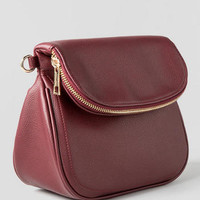 DAWSON ZIPPER FLAP CROSSBODY