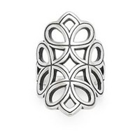 Floral Tracery Ring | James Avery