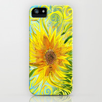 Sunflower Symphony iPhone & iPod Case by Catherine Holcombe | Society6
