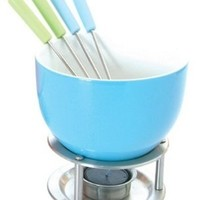 Mastrad Chocolate Fondue Set, Blue:Amazon:Kitchen & Dining