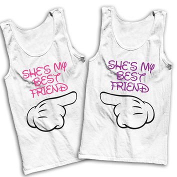 She's My Best Friend Best Friends Tees
