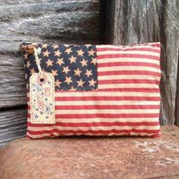 Primitive July 4 Flag Decoration -.. on Luulla