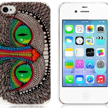 The Cheshire Cat Pattern Case for iPhone 4/4S