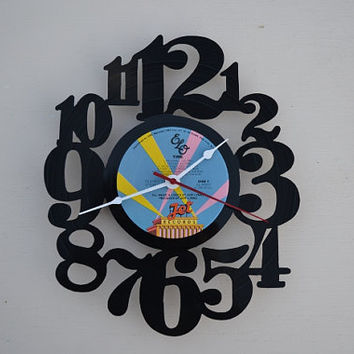 Vinyl Record Album Wall Clock (artist is ELO)