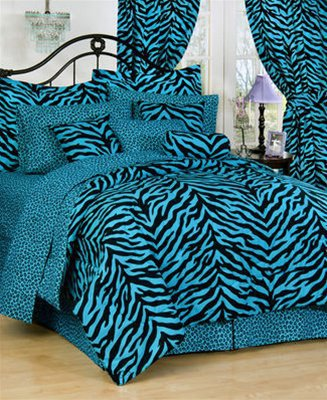 Zebra Bedding Ensemble by Kimlor | Comforter Sets, Bed In A Bag Sets, Bed In Bag and Daybeds by Kimlor | PaulsHomeFashions.com