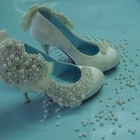 custom wedding shoes by cust467 on Sense of Fashion